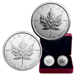 2 x 5 $ Dollar 30th Anniversary / 30 Jahre - Silver Maple Leaf Set Kanada 2 x 1 oz Silber 2018 **