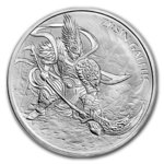 1 Clay ZI:SIN Gallus South Korea Südkorea 1 oz Silber 2017