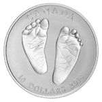 10 $ Dollar Welcome to the World Born in 2018 Kanada 1/2 oz Silber PP 2018 **