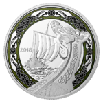 20 $ Dollar Norse Figureheads - Northern Fury Kanada 1 oz Silber PP 2018 **