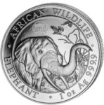 100 Shilling Elefant WMF Edition Berlin Privy Mark Brandenburger Tor Somalia 1 oz Silber 2018 **