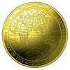 100 $ Dollar Terrestrial Dome - 1812 - A New Map of the World Australien 1 oz Gold PP 2018
