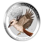 1 $ Dollar World Money Fair WMF Berlin Coin Show Special Kookaburra Australien 1 oz Silber 2018 **