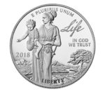 100 $ Dollar Preamble to the Declaration of Independence Platinum - Life USA 1 oz Platin PP 2018