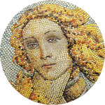 20 $ Dollar Great Micromosaic Passion - Birth of Venus Botticelli Palau 3 oz Silber PP 2017