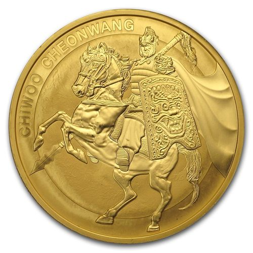 1 Clay Chiwoo Cheonwang South Korea Südkorea 1 oz Gold BU 2017