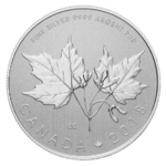 10 $ Dollar Silver Maple Leaf Kanada 1/2 oz Silber 2018 **