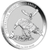 1 $ Dollar Wedge Tailed Eagle Keilschwanzadler Australien 1 oz Silber 2018 **