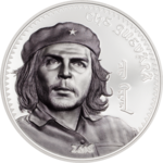 1000 Togrog Che Guevara Mongolei 1 oz Silber PP 2018 **