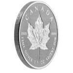 20 $ Dollar 30 Anniversary - 30 Jahre Silver Maple Leaf - Double Incuse Kanada 1 oz Silber 2018 **