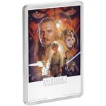 2 $ Dollar Phantom Menace - Episode I Die Dunkle Bedrohung Star Wars Niue Island Silber PP 2018 **