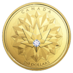 250 $ Dollar Canadian Diamond - Celebrating Canadian Brilliance Kanada Gold PP 2017