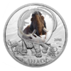 20 $ Dollar Frozen in Ice Wooly Mammoth Mammut Kanada 1 oz Silber PP 2018 **