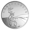 3 $ Dollar The Caribou - Karibu Kanada 1/4 oz Silber 2018 **