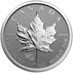 5 $ Dollar Maple Leaf Privy Grizzly Reverse Proof 1 oz Silber Kanada 2016 **