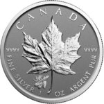 5 $ Dollar Maple Leaf Privy Moose Elch Reverse Proof 1 oz Silber Kanada 2017 **