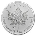 5 $ Dollar Maple Leaf Privy Edison Light Bulb - Glühlampe Reverse Proof 1 oz Silber Kanada 2018 **