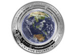5 $ Dollar Earth And Beyond - The Earth - Die Erde Australien 1 oz Silber PP 2018 **