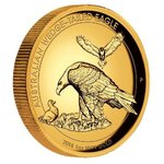 100 $ Dollar Wedge-Tailed Eagle Keilschwanzadler High Relief Australien 1 oz Gold PP 2018