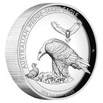 1 $ Dollar Wedge-Tailed Eagle Keilschwanzadler High Relief Australien 1 oz Silber PP 2018 **