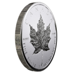 50 $ Dollar 30 Anniversary - 30 Jahre Silver Maple Leaf - Double Incuse Kanada 3 oz Silber 2018 **