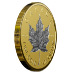 200 $ Dollar 30th Anniversary - 30 Jahre Silver Maple Leaf Kanada 1 oz Gold + Platin PP 2018