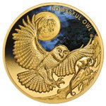 100 $ Dollar Powerful Owl - Riesenkauz Niue Island 1 oz Gold 2018