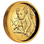 100 $ Dollar Koala High Relief Australien 1 oz Gold PP 2018
