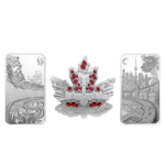 60 $ Dollar Pure Silver 3-Coin Set - Beneath The Shining Skies Kanada Silber PP 2018 **