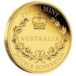 50 $ Dollar Australian Double Sovereign Australien Gold PP 2018