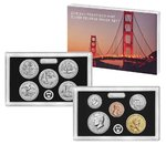 San Francisco Mint Silver Reverse Proof Set USA Silber 2018 **