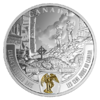 20 $ Dollar Canada's Hundred Days - First World War Series Kanada 1 oz Silber PP 2018 **