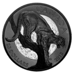 20 $ Dollar Nocturnal by Nature - The Cunning Cougar Puma Kanada 1 oz Silber PP 2018 **