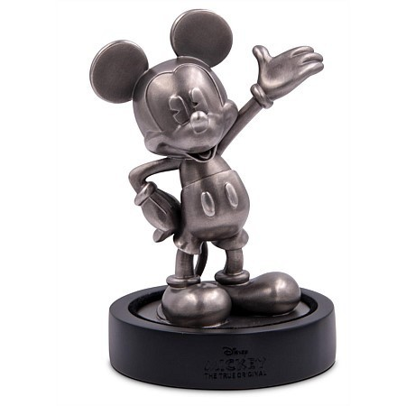 90th Anniversary - 90 Jahre Mickey Mouse Miniatur Skulptur Silber 2018