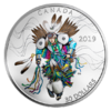 30 $ Dollar Fancy Dance - Indianer 2 oz Silber PP 2019 **