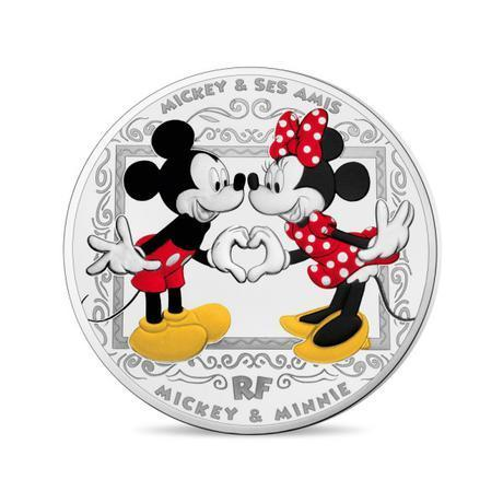 10 Euro Mickey Mouse & Friends Frankreich Silber PP 2018
