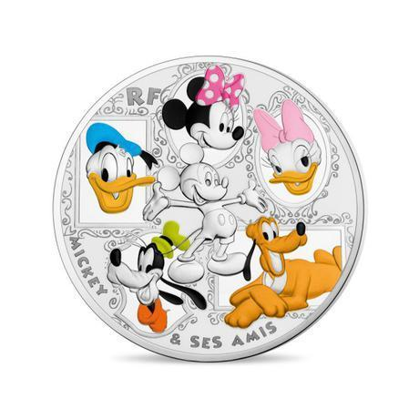 50 Euro Mickey Mouse & Friends Frankreich 5 oz Silber PP 2018
