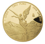 1 oz Unze Gold PP Proof Libertad Mexiko 2018