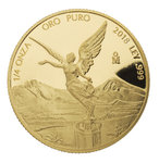 1/4 oz Unze Gold PP Proof Libertad Mexiko 2018