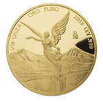 1/10 oz Unze Gold PP Proof Libertad Mexiko 2018