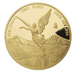 1/20 oz Unze Gold PP Proof Libertad Mexiko 2018