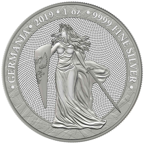 5 Mark Germania 1 oz Silber BU 2019 **