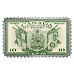 20 $ Dollar Canada's Historical Stamps Coat of Arms and Flags Kanada 1 oz Silber PP 2019 **