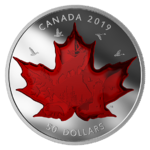 50 $ Dollar Celebrating Canada's Classic Icons Kanada 5 oz Silber 2019 **