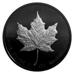 10 $ Dollar Special Edition Silver Maple Leaf Kanada 2 oz Silber + Rhodium PP 2019 **