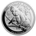 1 $ Dollar Koala Australien Privy Mark Dog - Hund 1 oz Silber 2018 **