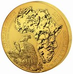 100 Francs African Ounce Schuhschnabel - Shoebill Ruanda 1 oz Gold BU 2019