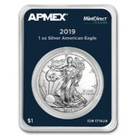 1 $ Dollar Silver American Eagle USA Apmex MintDirect® Premier 1 oz Silber 2019 **
