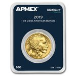 50 $ Dollar American Buffalo Apmex MintDirect® Premier USA 1 oz Gold 2019