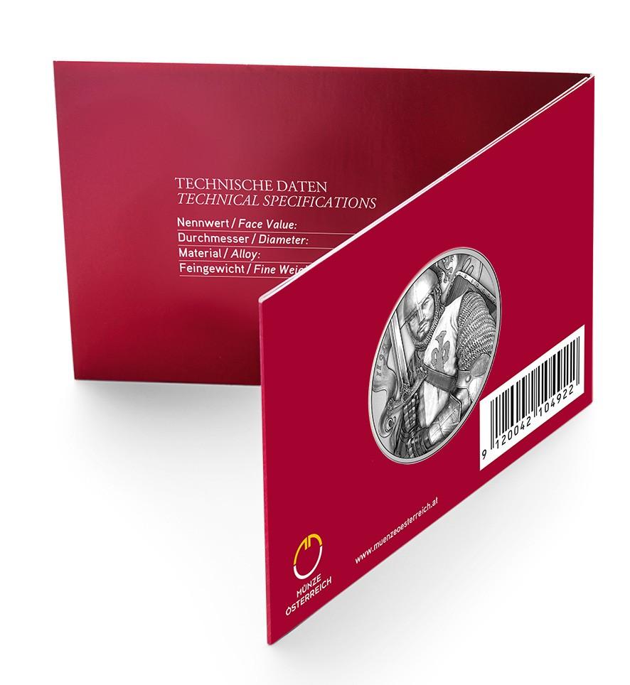 15 Euro 825 Jahre Münze Wien Austrian Mint Leopold V österreich